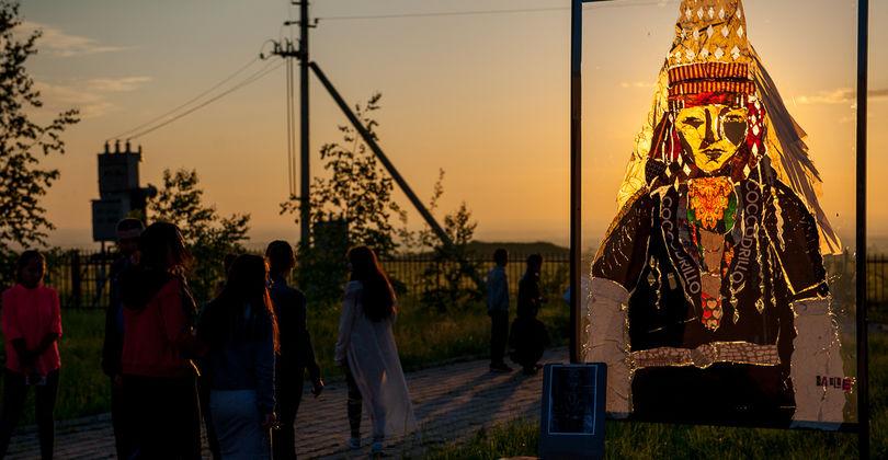 Удивительная ночь на курганах Иссыка