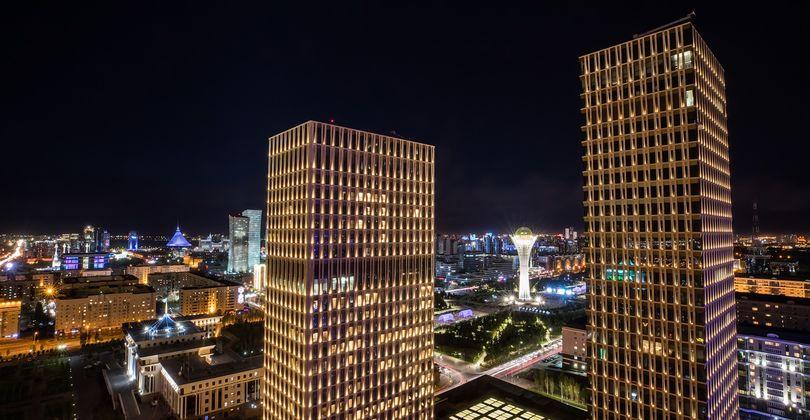Talan Towers: современный символ Астаны