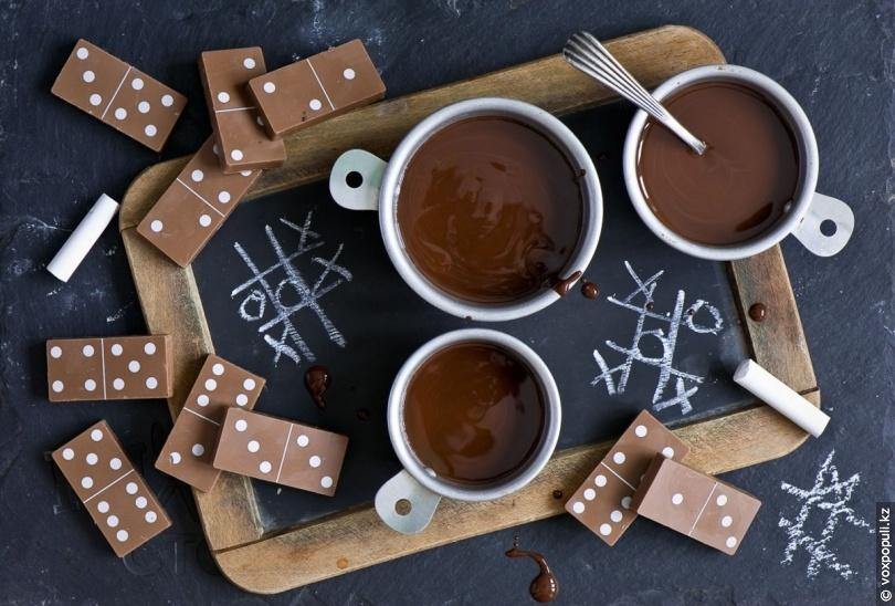 Шоколадный пломбир в домашних условиях 13