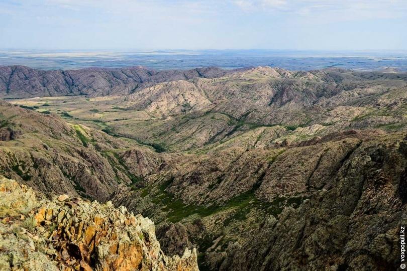 哈萨克斯坦著名景点介绍 乌勒套山