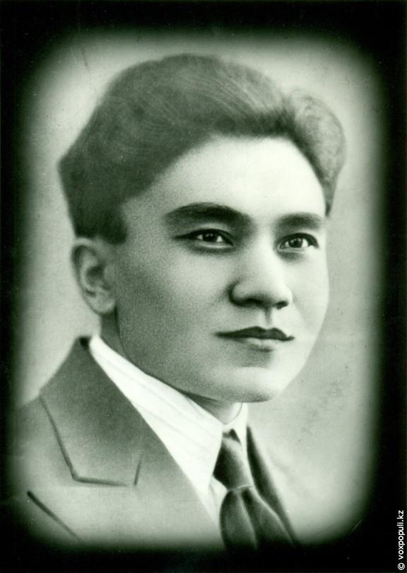 Режиссер казахского театра Аскар Топанов в молодые годы