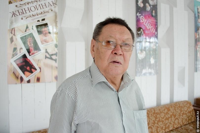 Режиссер Есмухан Обаев