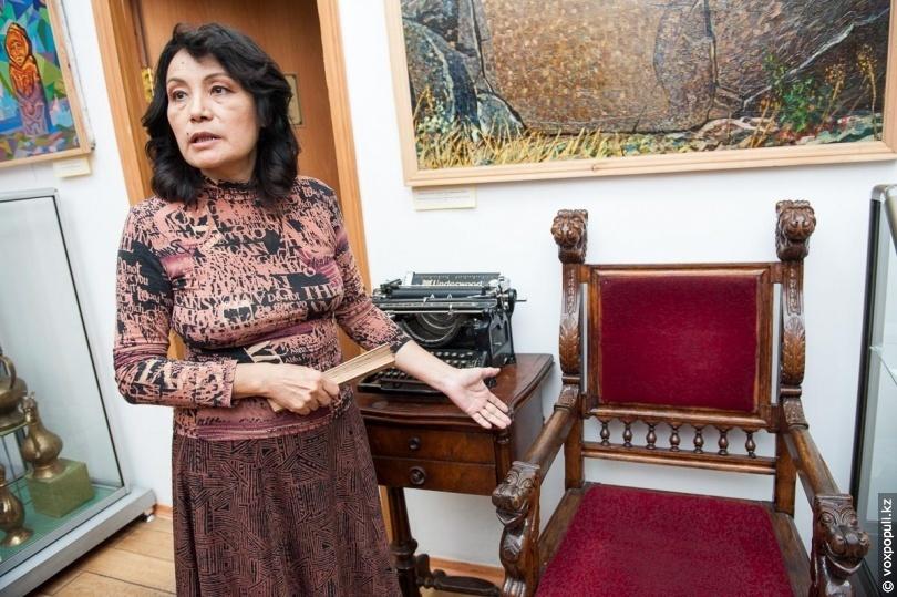 Гульмира Билялова, заведующая отделом древней, средневековой истории и вернинского периода