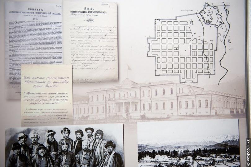 План города Верного