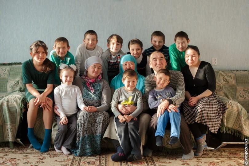 Семья Кабылбаевых