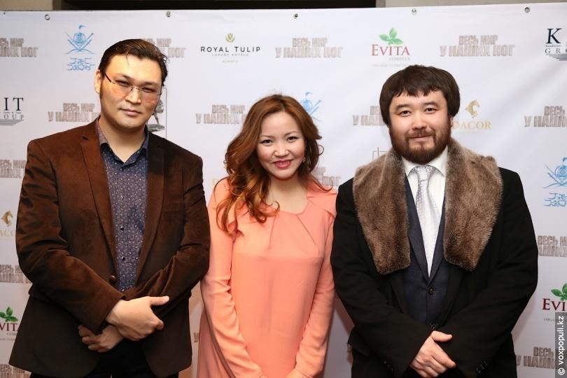 Саламат с продюсером картины Дауреном Мусой
