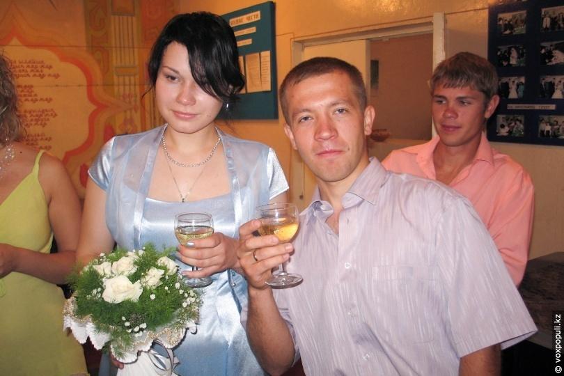 С супругой Любовью