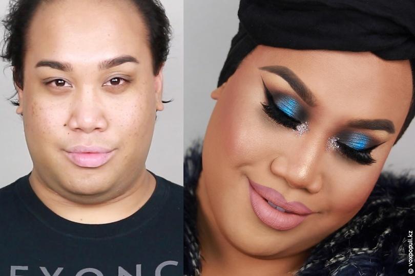Парни в макияже