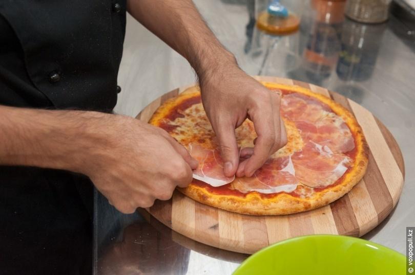Как сделать тесто для пиццы и сам у пиццу своими руками 11