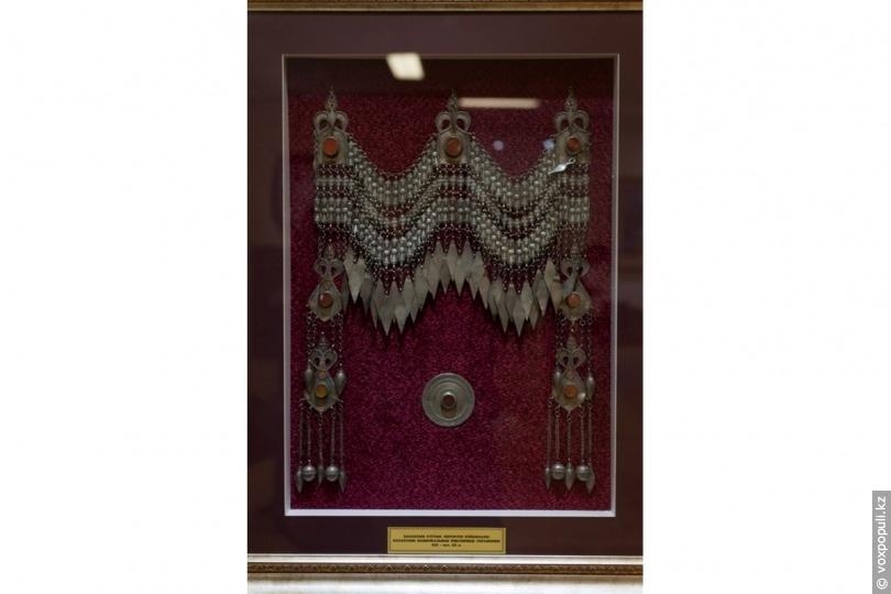 Казахские ювелирные украшения