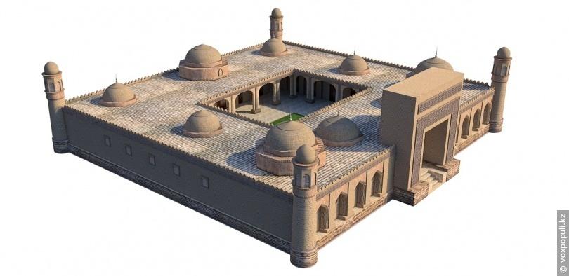Реконструкція будівлі медресе