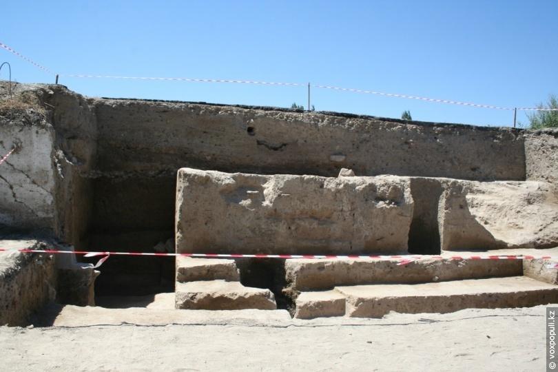 Исследование фортификационной системы Тараза