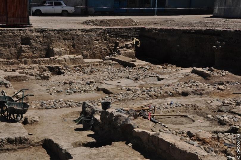 Житлові квартали стародавнього Тараза