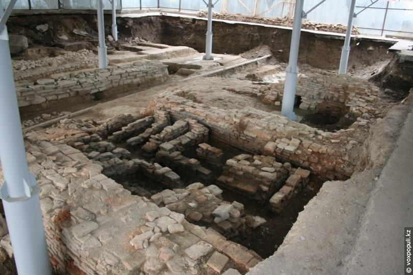 Розкоп лазні в 2012 році