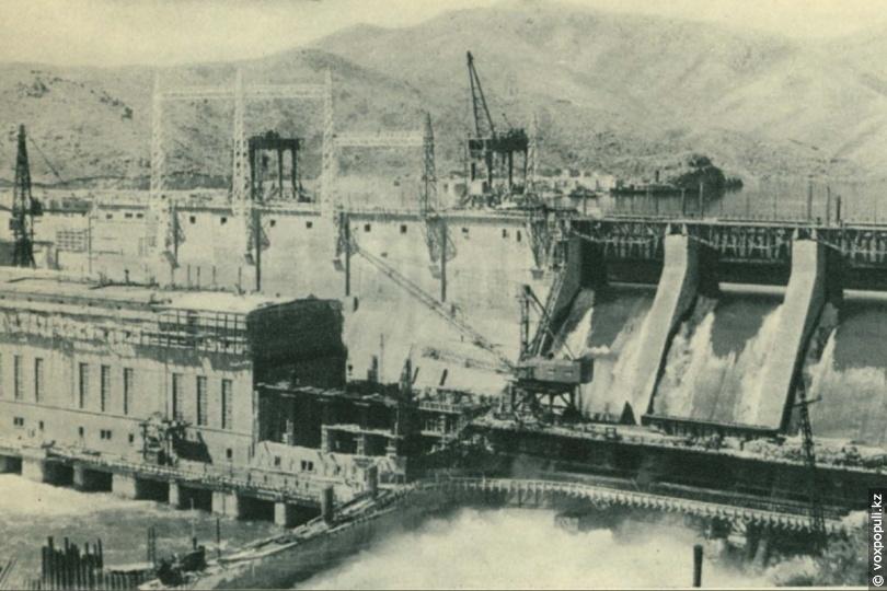 Усть-Каменогорская ГЭС, 1953 год