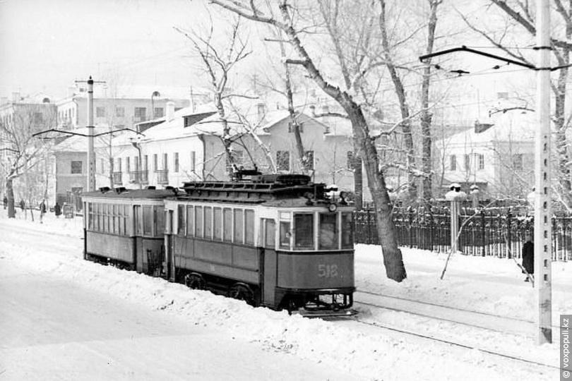 Усть-Каменогрск. Первый трамвай, 1964 год