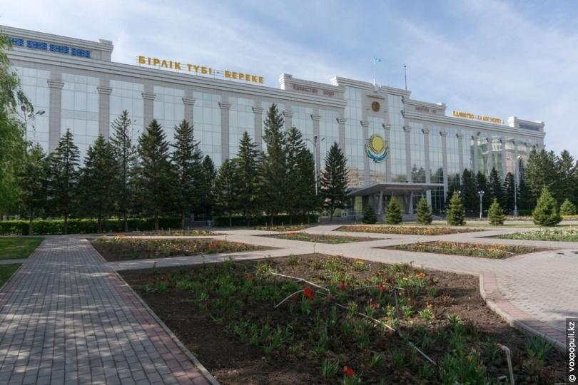 Здание акимата ВКО