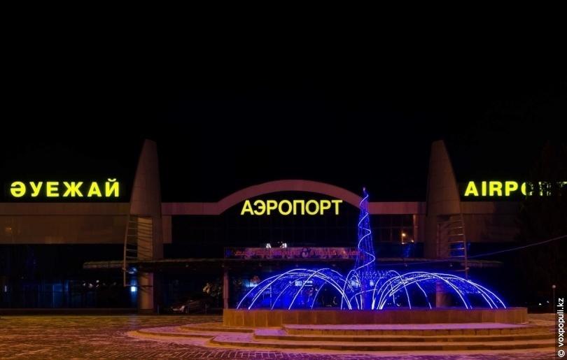 Усть-Каменгорск. Аэропорт