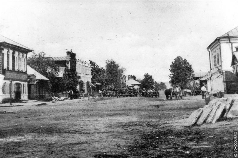 Центральная улица Усть-Каменогорска, 1910 год