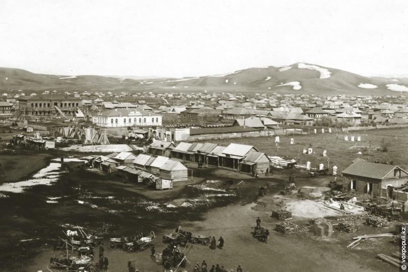 Усть-Каменогорск, центр города, 1912 год