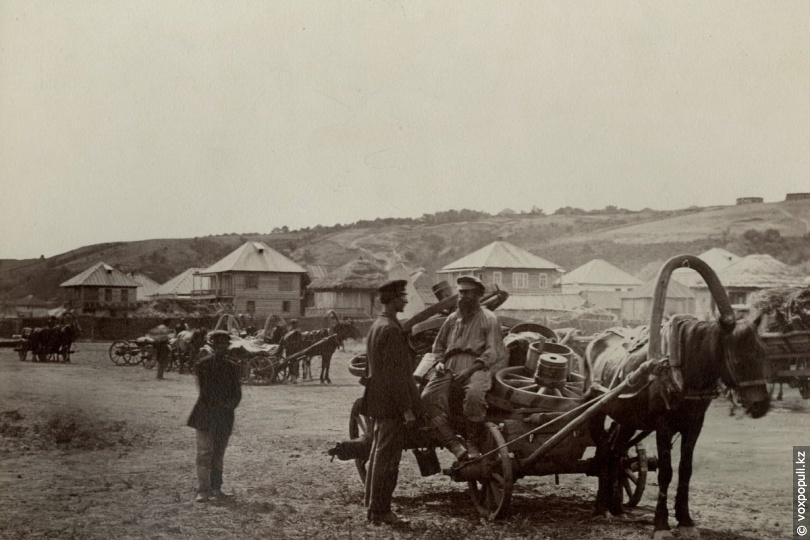 Казаки, 1875 год