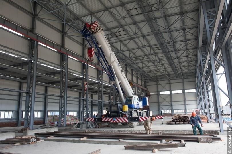 Будівництво механічної майстерні