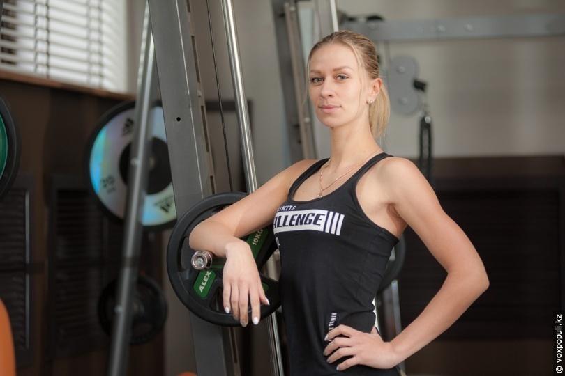Олександра Ашихина, інструктор з фітнесу