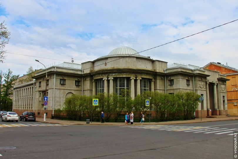 Центральна районна бібліотека, Кронштадт