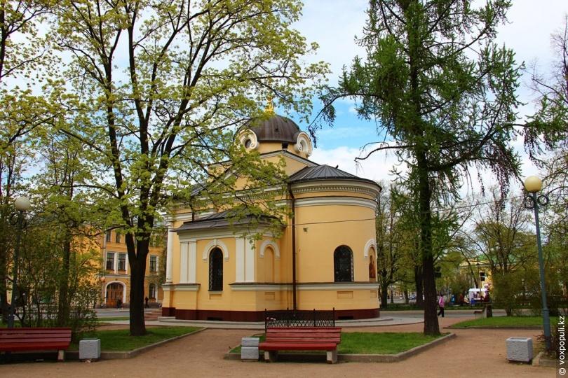 Церковь-часовня Тихвинской Богоматери