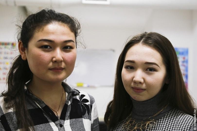 Акку и Аида, преподаватели в ОЦ «Логос»