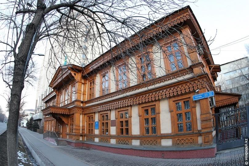 Здание «Казреставрации», Алматы