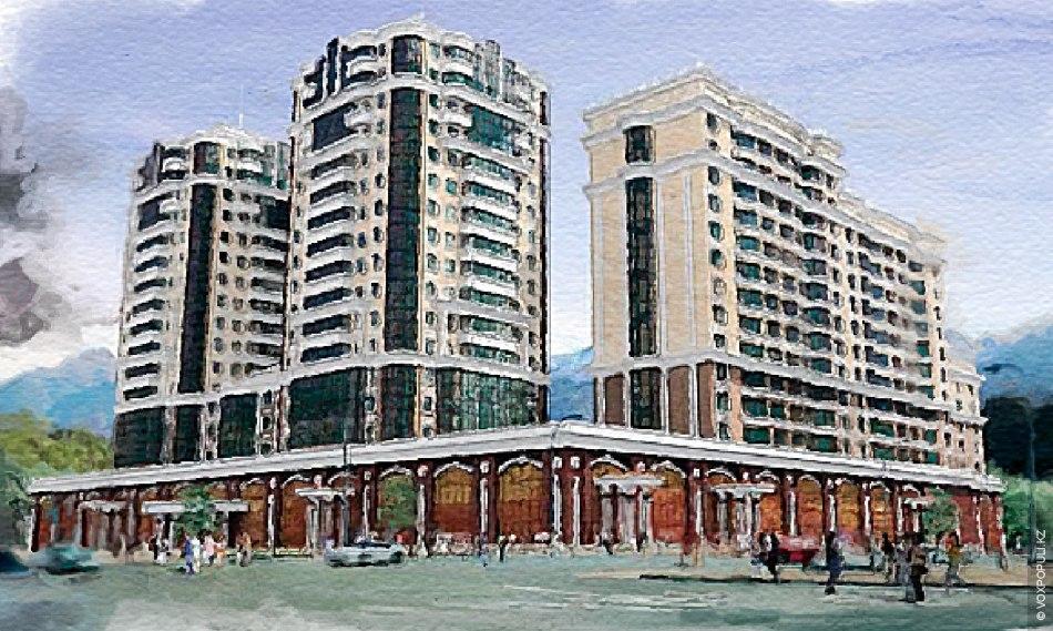 fef1d40cc0e1 Новые торгово-развлекательные центры Алматы