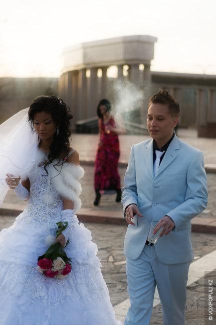 Лезбийская свадьба в караганде