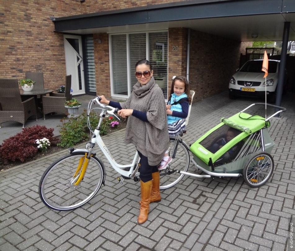 Мы живем недалеко от Роттердама, в поселке Беркел ен Роденрайс. Это сравнительно молодое место, где...