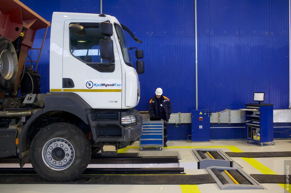 Цех диагностики, оснащенный двумя линиями контроля техники, предназначен для легковых и грузовых транспортных средств. Диагностика...