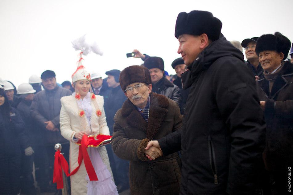 В торжественной церемонии открытия данной базы приняли участие ветераны нефтегазовой сферы и аким области Алик...