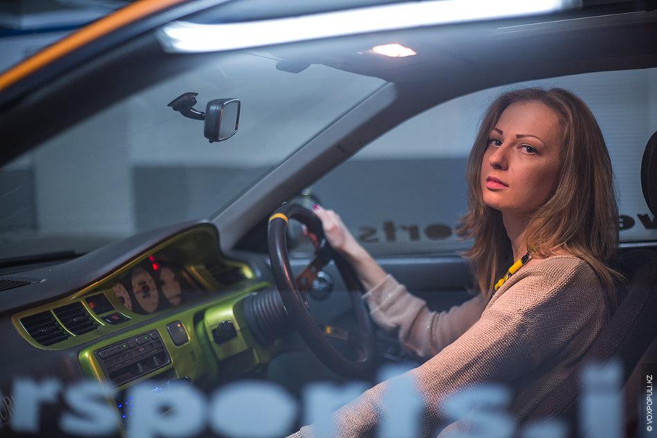 Юлия 19 лет студентка стаж вождения