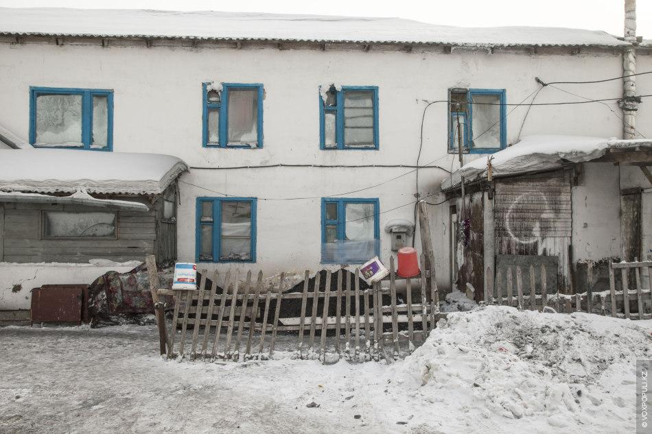 Трущобы правого берега Астаны