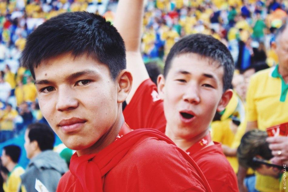 Айдос, Таукехан и Шадияр в Бразилии