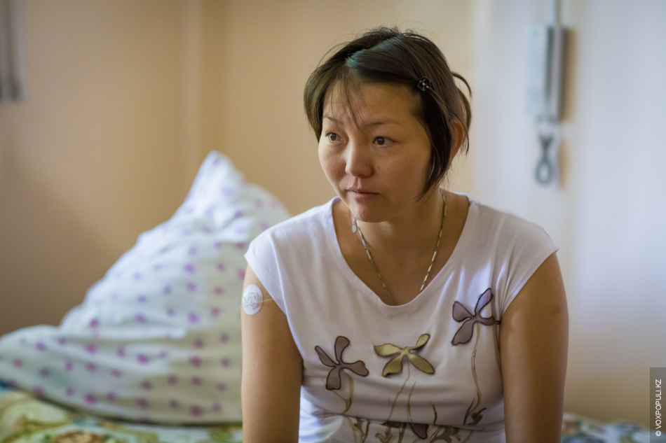 Шынар, 32 года. В большинстве случаев женщинам с сахарным диабетом не разрешают рожать, но Шынар...