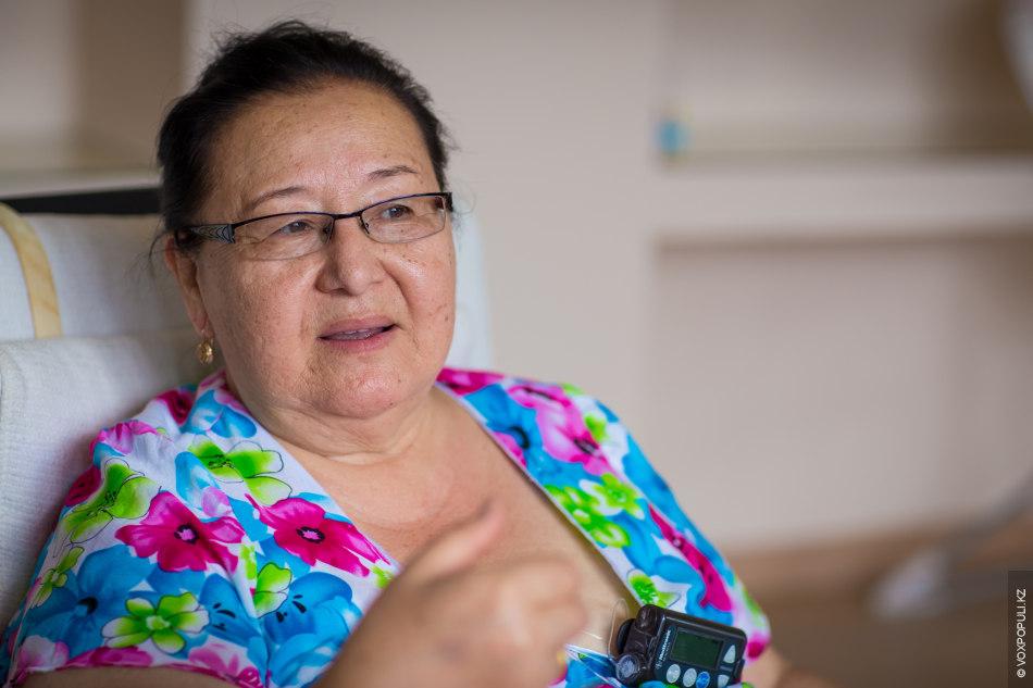 Годы спустя, проанализировав течение болезни, Ляззат Ибадулаевна пришла к выводу, что сахарный диабет спровоцировал пассивный...