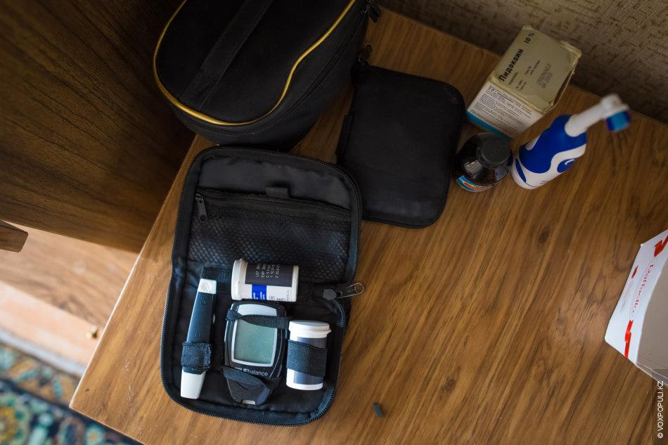 Каждое утро Мирослава начинается с измерения сахара, это обязательная процедура.  – Я встаю утром и измеряю...