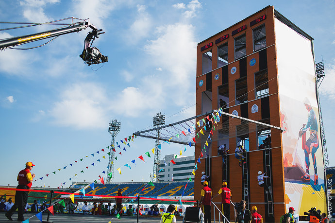 Кроме того, в программе соревнований были подъем по штурмовой лестнице в окно четвертого этажа учебной...
