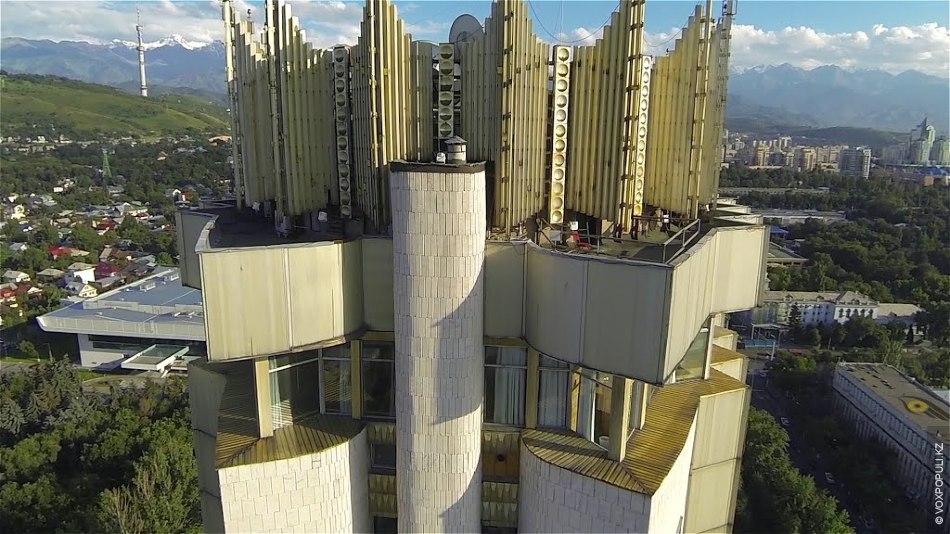 Первый небоскреб Алма-Аты