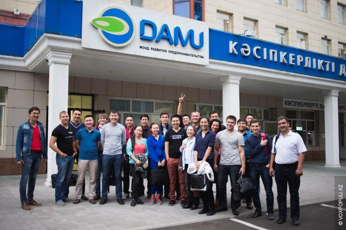 На подобных марафонах заключаются договоры на сумму до $150 000.  В Алматы при поддержке Фонда...