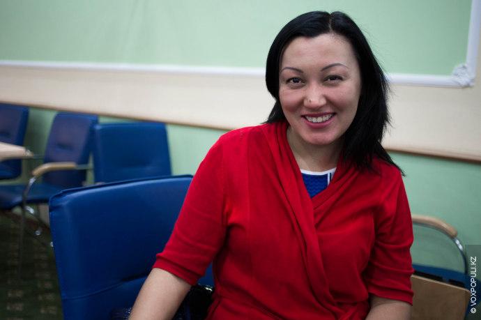 Жайна, 30 лет, директор курсов английского языка:  – Я пришла на i-sprint для того, чтобы поднять...