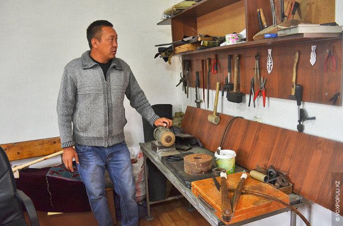 Даулет Шокпаров – один из нескольких поколений мастеров в их семье. В наши дни он...