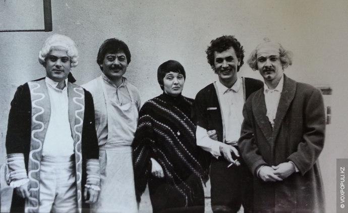 В 1966 году при Алматинской государственной консерватории имени Курмангазы по приказу ректора Куддуса Кужамьярова открылась...