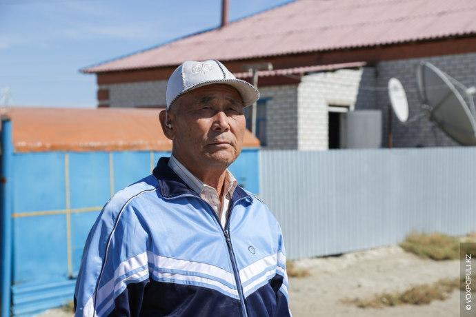 Я родился в Акжарском совхозе Кармакшинского района Кызылординской области 5 февраля 1942 года в простой...