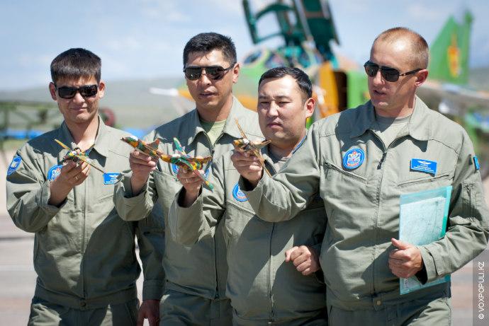 В январе 2010-го года первая пара истребителей поступила на авиабазу в Талдыкоргане после ремонта и...